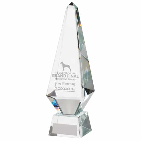 Monument Crystal Obelisk Award 1