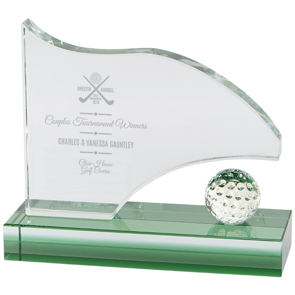 Royal Golf Jade Glass Award