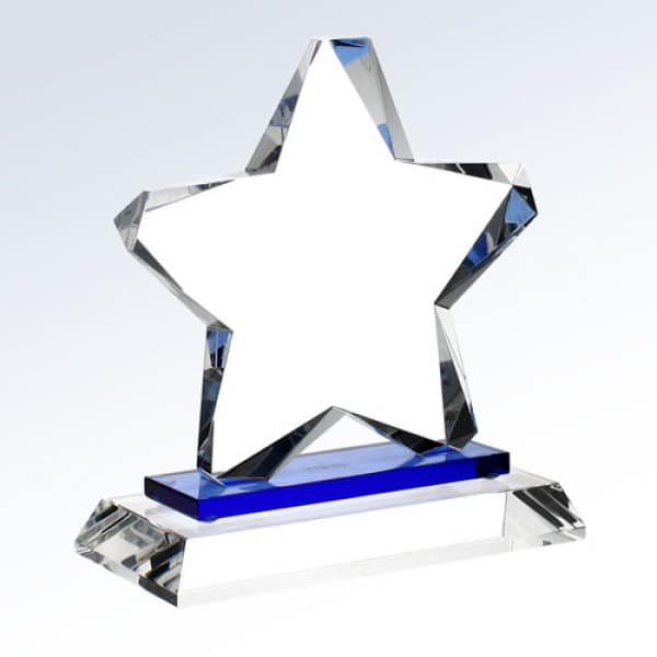 Blue Twinkle Star (Crystal base)