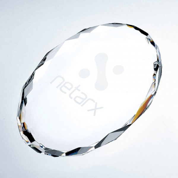 Paperweight Gem-Cut Oval