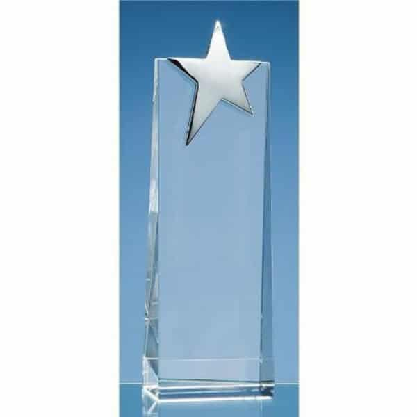 Wedge with Silver Star