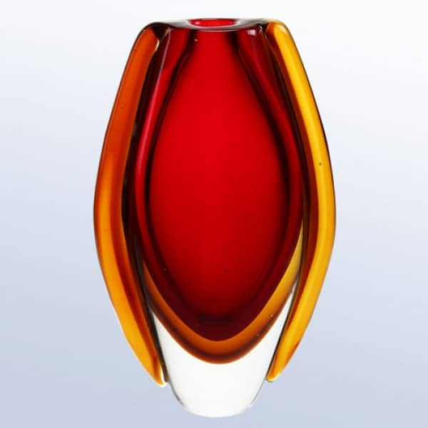 The Red Lava Vase