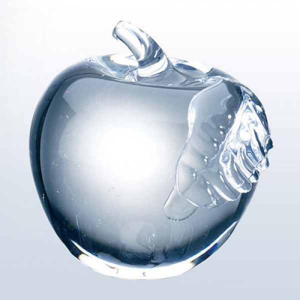 Glass Apple-Clear Leaf