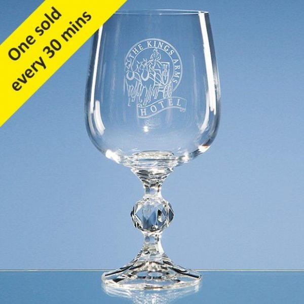 340ml Claudia Crystalite Large Goblet 1