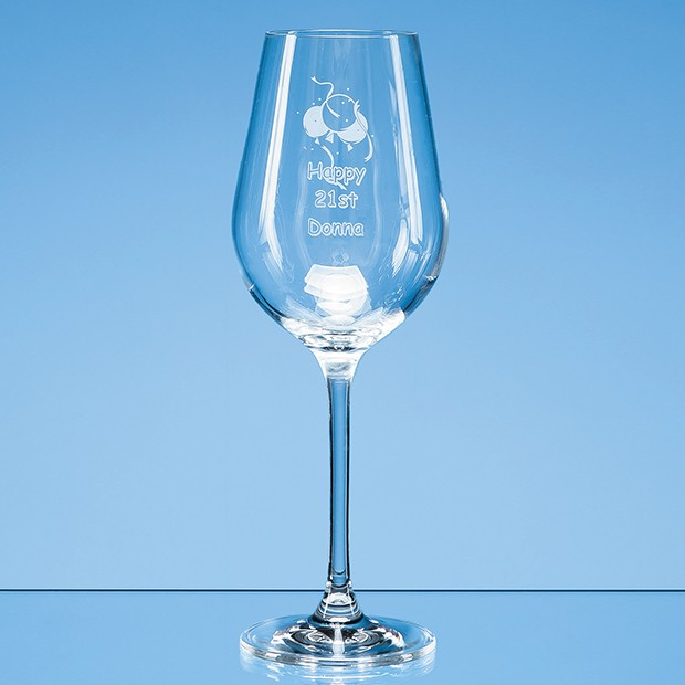350ml Aura Crystalite Wine Glass