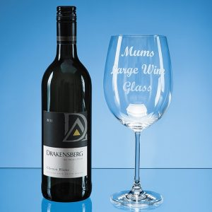 850ml 'Grande Vino' Full Bottle of Wine Glass*