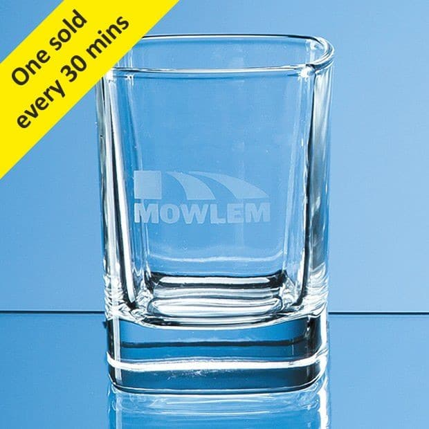 60ml Strauss Square Tot Glass