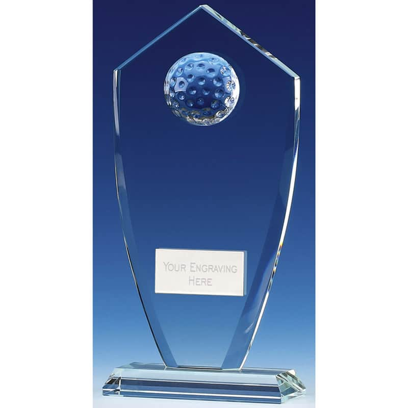 Foundation Peak Golf Glass